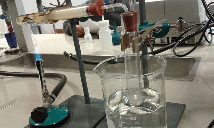 Biocombustible en laboratorio