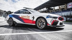 BMW M8 MotoGP Safety Car delantera