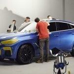 Desarrollo del BMW X6 Vantablack