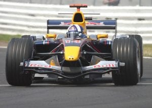 David Coulthard en el Red Bull 2005