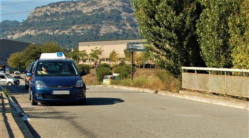Examen práctico de conducir coche de la DGT