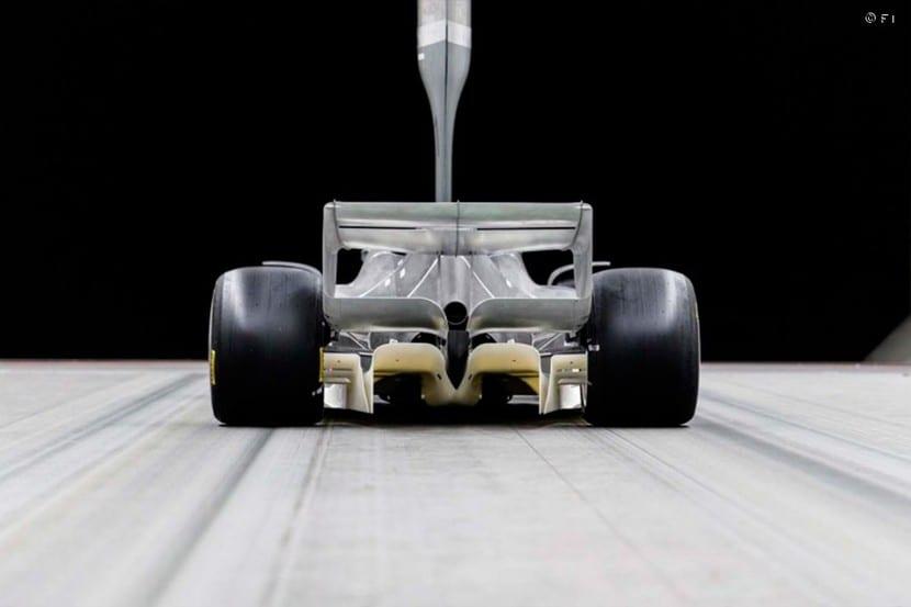 Trasera del F1 2021