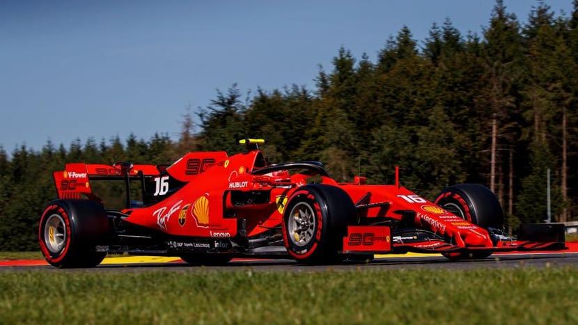 Ferrari en Bélgica 2019