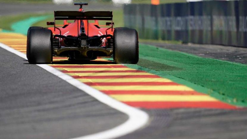 Ferrari en Spa 2019