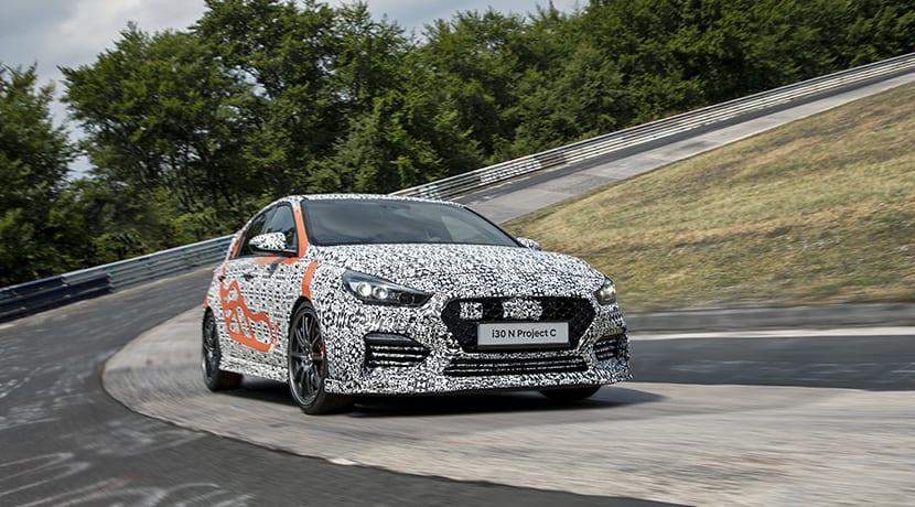 Hyundai i30 N Project C Nürburgring Karrusel
