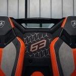 Lamborghini Aventador SVJ 63 Roadster interior