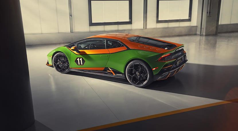 Lamborghini Huracán Evo GT Celebration trasera