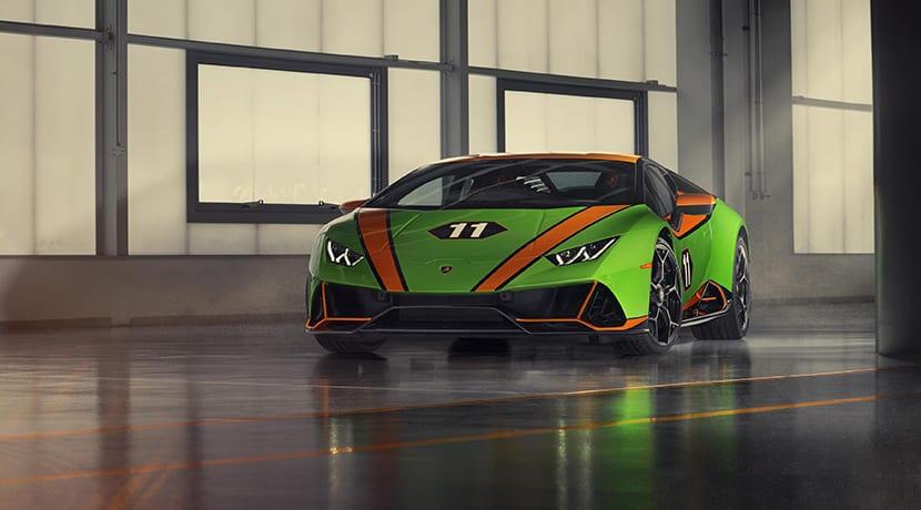 Lamborghini Huracán Evo GT Celebration frontal