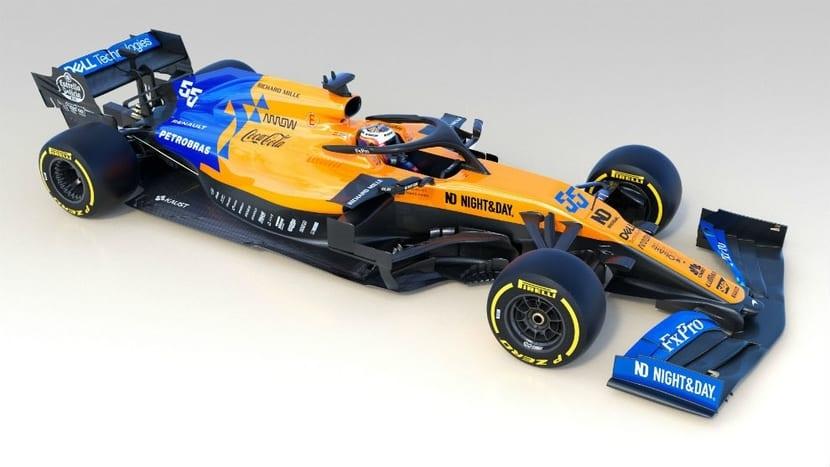 McLaren MCL34 nueva decoración Bélgica 2019