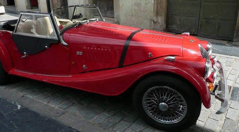 Morgan Plus 8 vehículo clásico o histórico