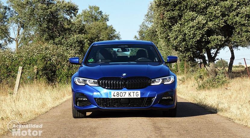 Prueba BMW Serie 3 frontal