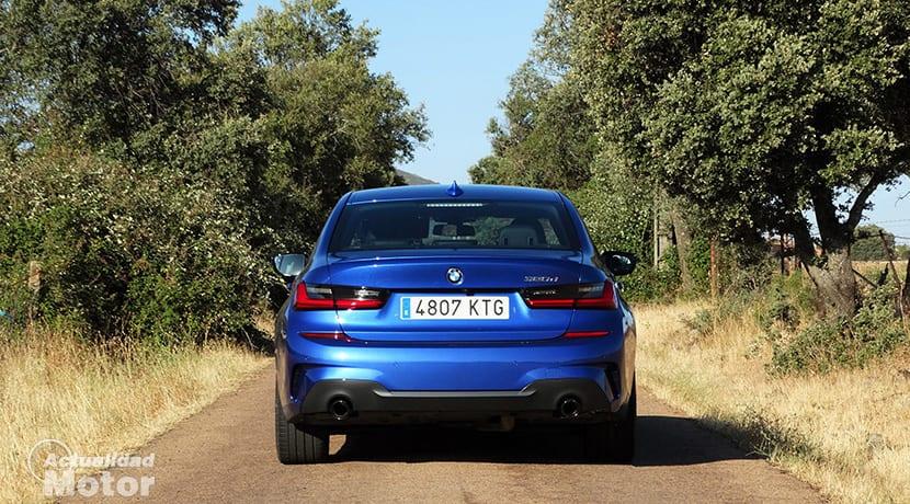Prueba BMW Serie 3 320d M Sport trasera