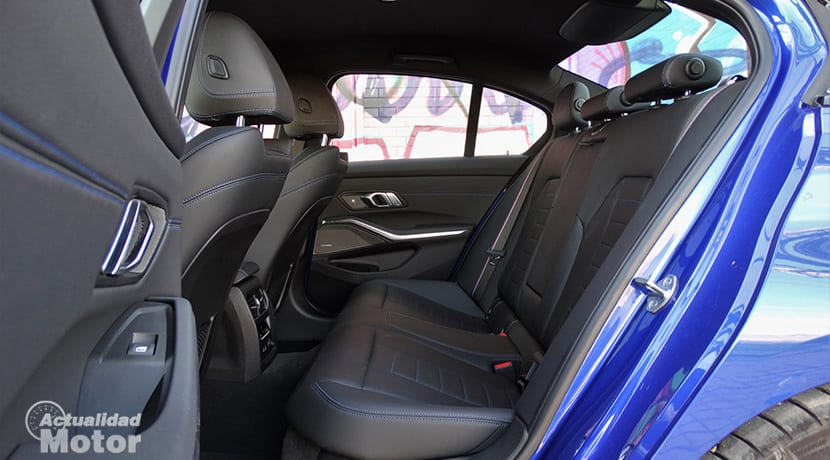 Prueba BMW Serie 3 plazas traseras
