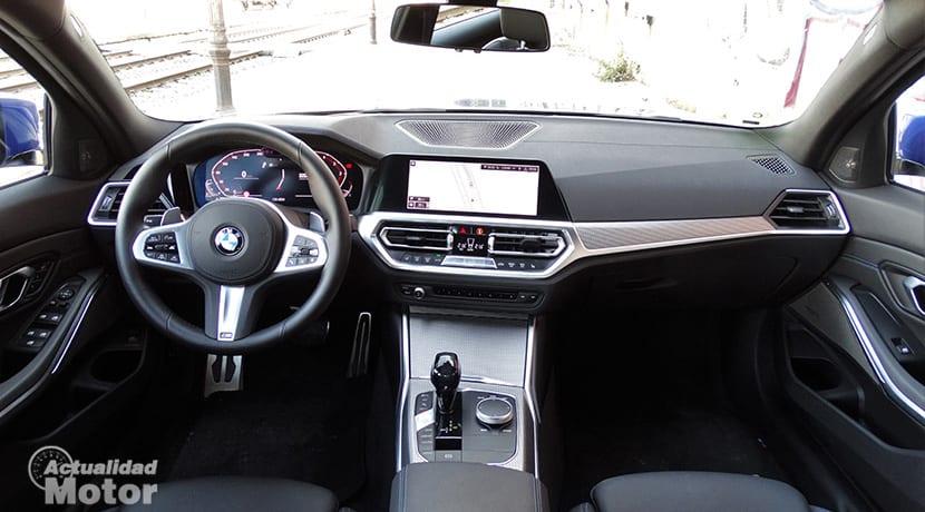 BMW Serie 3 salpicadero