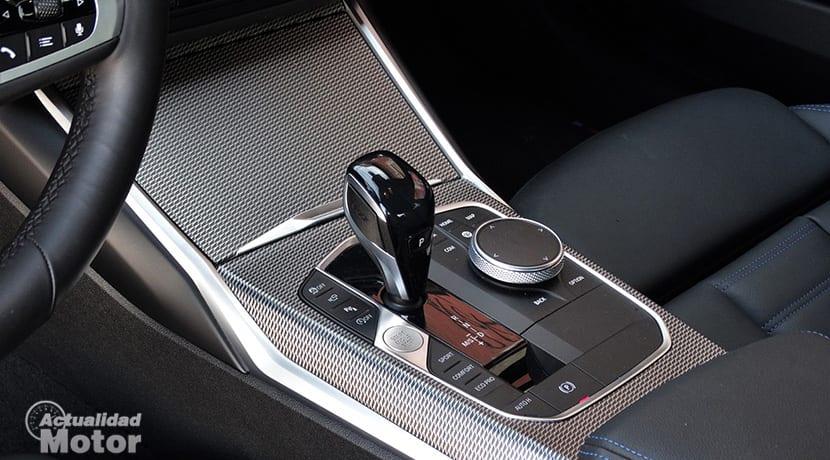 Prueba BMW 320d palanca cambio automático