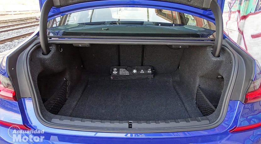 Prueba BMW Serie 3 berlina maletero