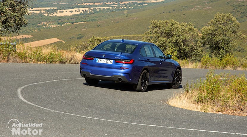 Prueba BMW 320d 190 CV G20 M Sport
