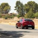 Prueba Mazda3 Skyactiv-G dinámica trasera