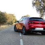 Parte trasera del Mazda3 gasolina 122 CV