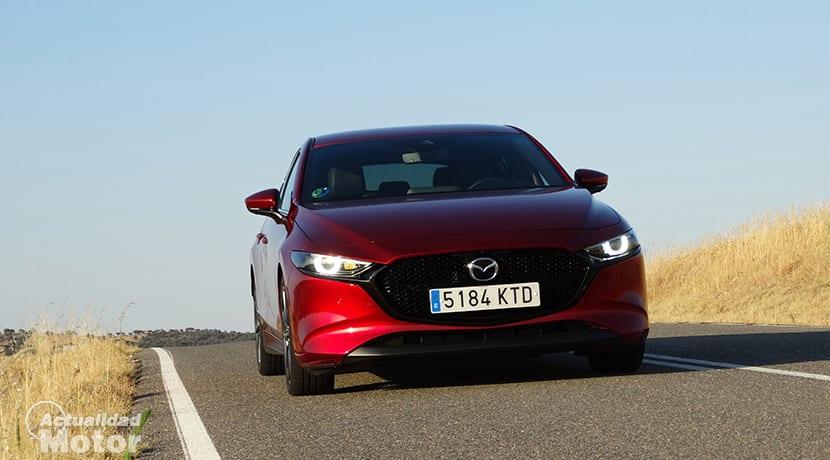 Prueba Mazda3 frontal