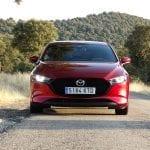 Prueba Mazda3 2.0 Skyactiv-G 122 CV frontal
