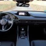 Prueba Mazda3 diseño salpicadero