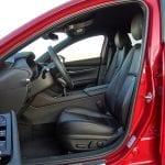 Prueba Mazda3 plazas delanteras