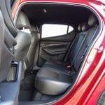 Prueba Mazda3 espacio en las plazas traseras