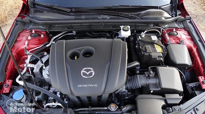 Prueba Mazda3 motor Skyactiv-G 122 CV