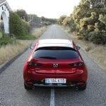 Prueba Mazda3 parte trasera