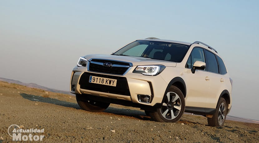 Prueba Subaru Forester GLP Executive