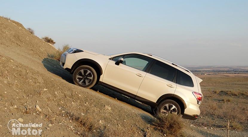 Prueba Subaru Forester GLP Offroad