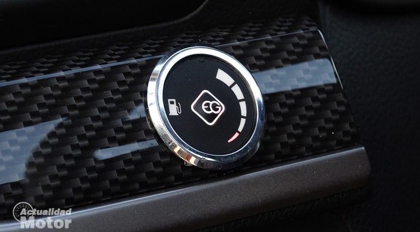 Botón GLP en Subaru Forester Executive