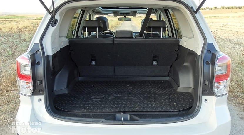 Maletero del Subaru Forester GLP