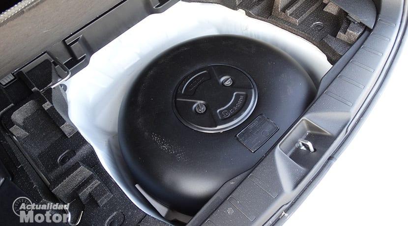 Tanque de GLP en Subaru Forester