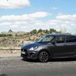 Prueba Suzuki Swift Sport 1.4 Turbo 140 CV costado