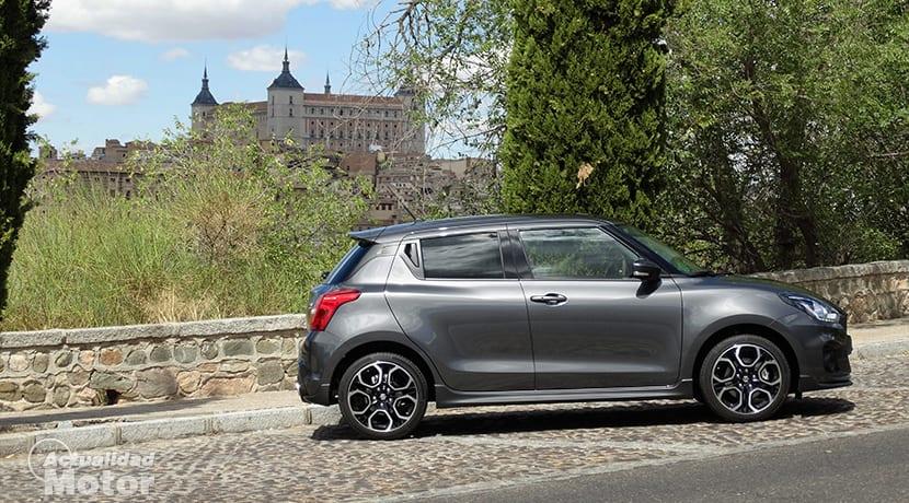 Prueba Suzuki Swift Sport lateral
