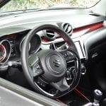 Prueba Suzuki Swift Sport parte interior
