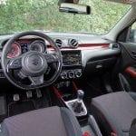 Prueba Suzuki Swift Sport puesto conducción