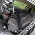 Prueba Suzuki Swift Sport plazas delanteras