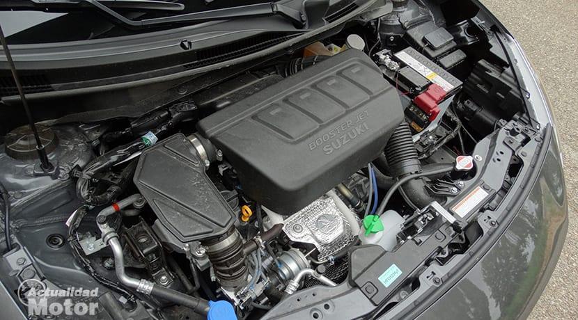 Prueba Swift Sport motor 1.4 Boosterjet 140 CV