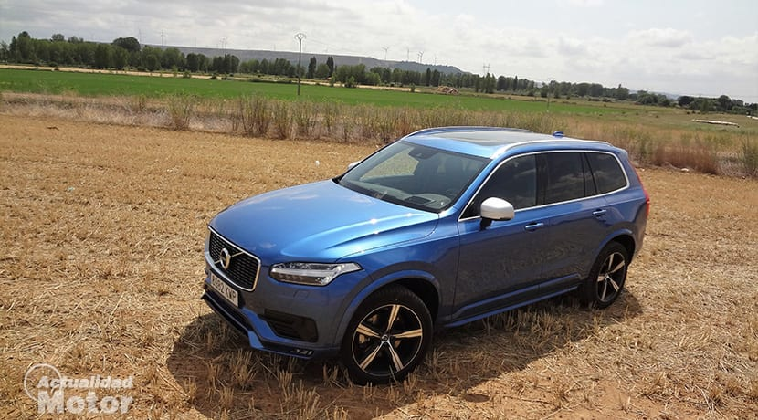 Off road volvo XC90