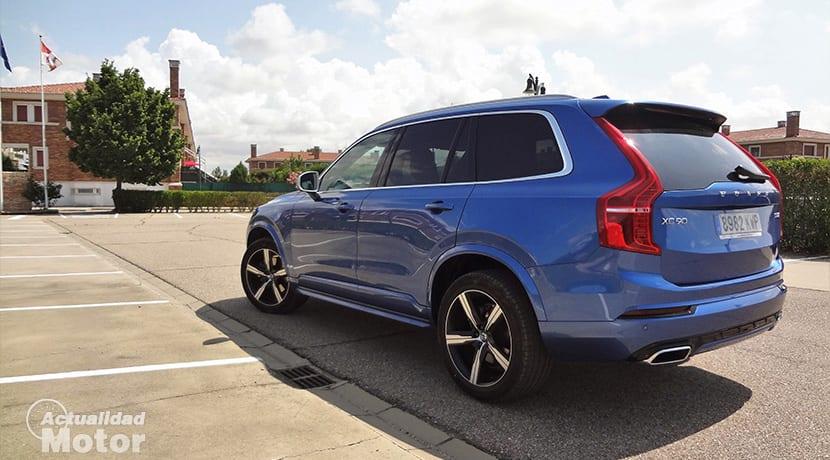 Prueba Volvo XC90 2019 R-Design