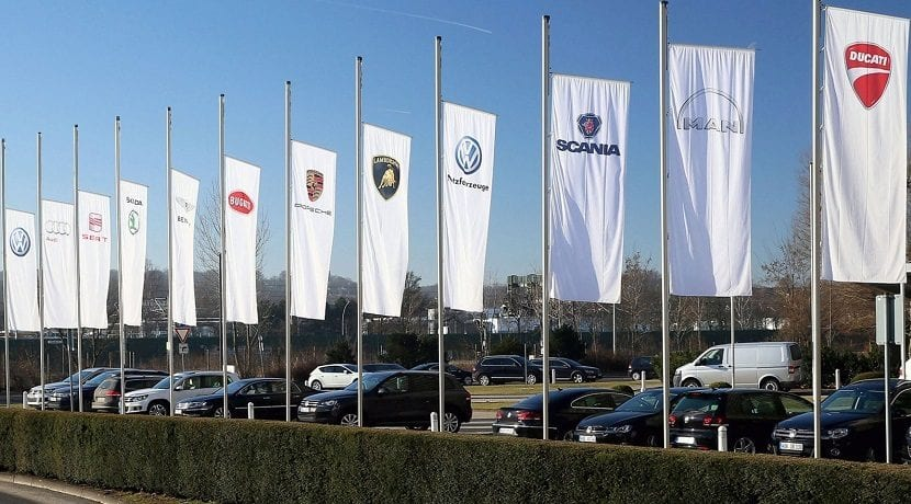 Marcas del Grupo Volkswagen