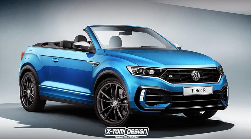 Volkswagen T-Roc Cabrio R recreación
