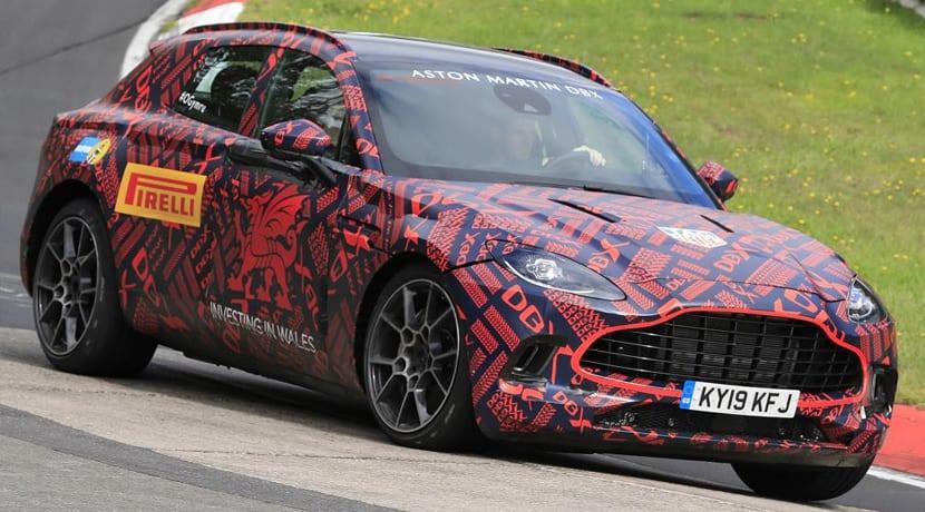 Aston Martin DBX Nurburgring