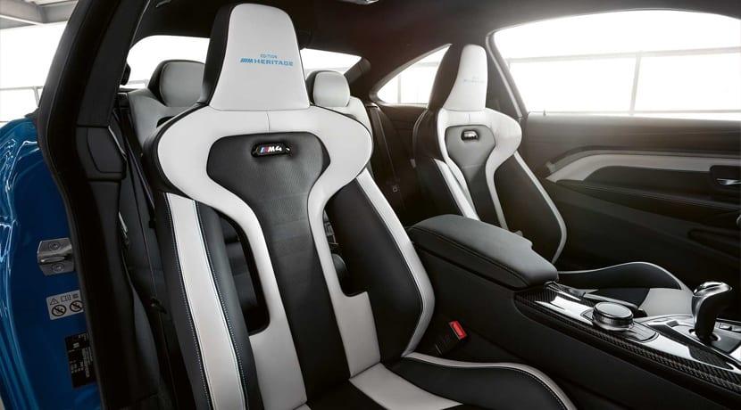 BMW M4 M Heritage Interior