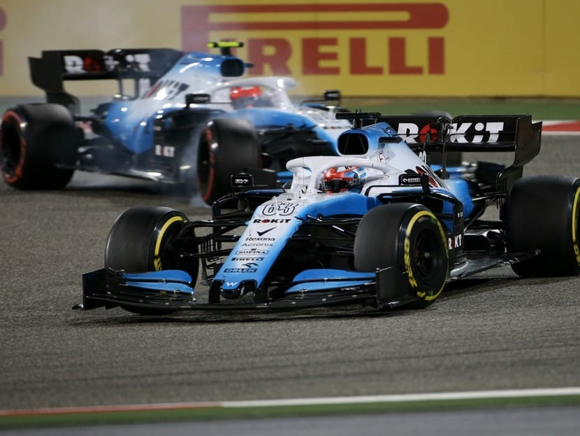 Kubica y Russell en Williams