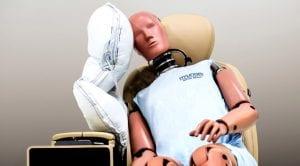 Hyundai Motor Corp central airbag