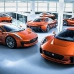 Jaguar C-X75 inspired Jaguar F-Type